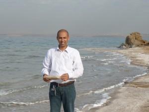 Salt Rocks at Dead Sea