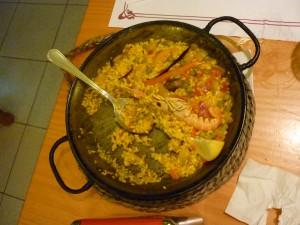 Paelle Rice Dish