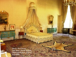 Shah Iran's Bed Room