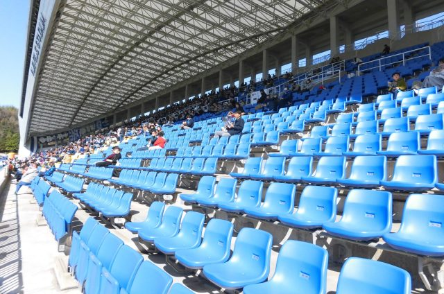 博多の森球技場 ベスト電器スタジアム ネーミングライツ 改修 Fukuoka Hakatanomori Stadium