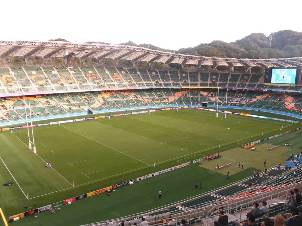 ラグビーワールドカップ 静岡スタジアム エコパ イタリア 南アフリカ スタジアムガイド