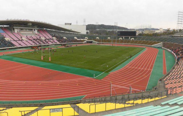 神戸ユニバー記念競技場 国立競技場 似てる 屋根