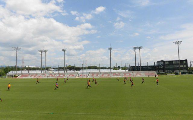 Honda都田サッカー場 バックスタンド 観戦記 訪問記