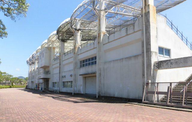 オルカ鴨川 鴨川市陸上競技場 駐車場 バス