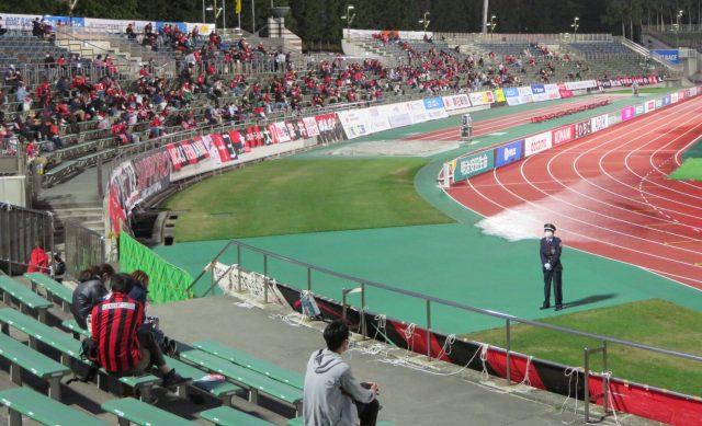サッカー観戦 札幌厚別競技場 コンサドーレ札幌 スタジアムガイド 観戦記