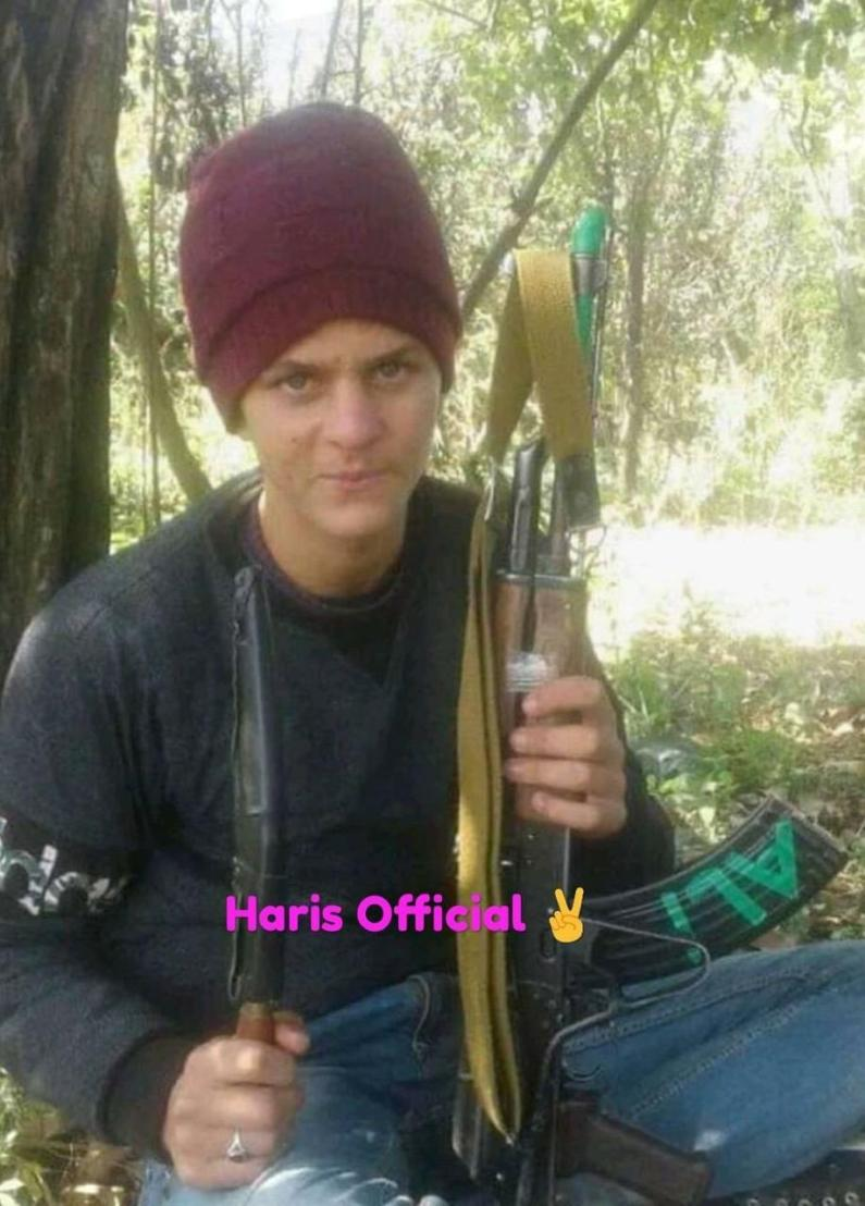 Picture of 14-yr-old missing Hajin youth holding AK-47 goes viral