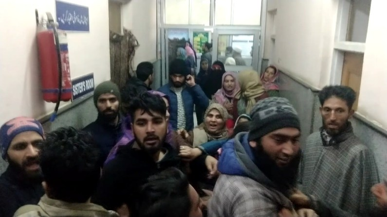 Baby dies in womb, family allege docs' negligence in Sopore
