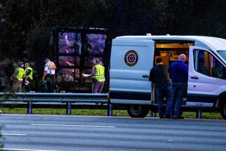 7 killed after fiery crash, fuel spill on Florida highway