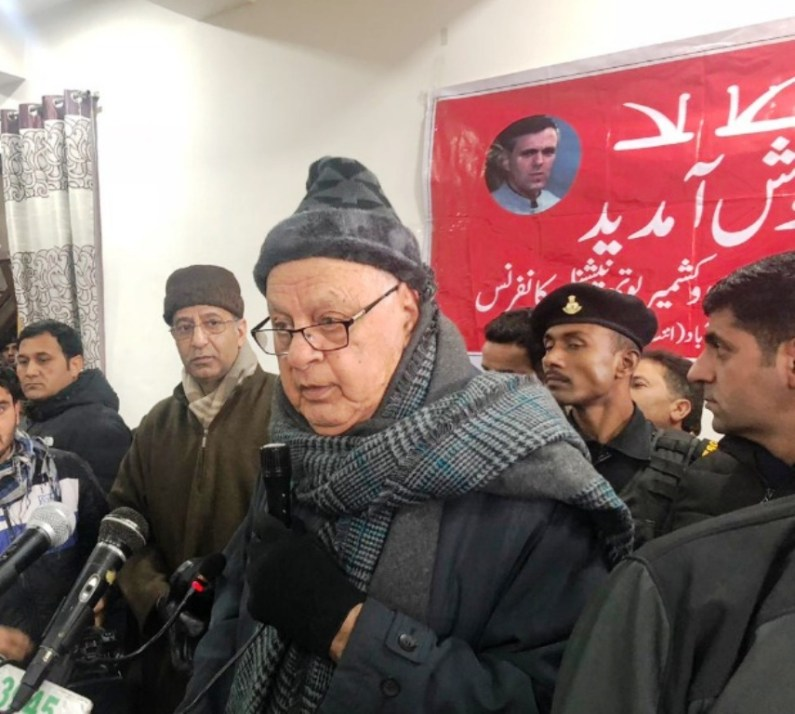 Conducive atmosphere inevitable for dialogue: Dr Farooq