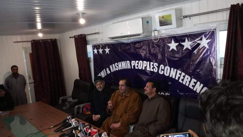 Former PDP leader joins PC in Kashmir
