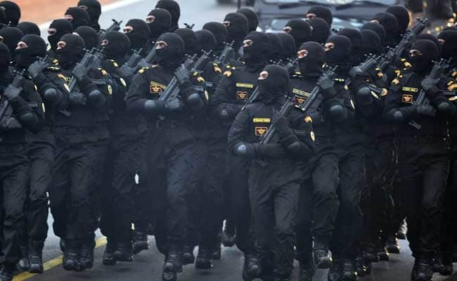 U.S. spl Ops Forces hold exercise with NSG in Hyderabad