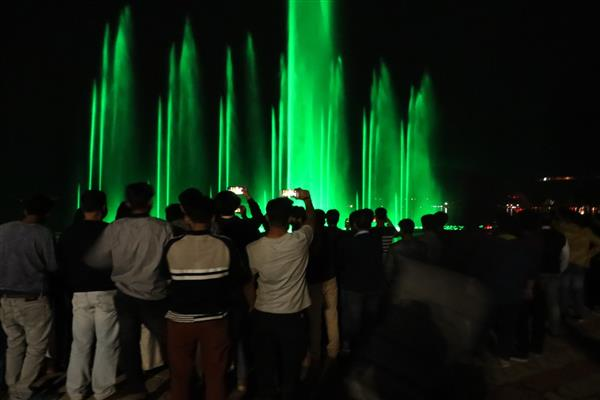 On huge response, Tourism Department to run Musical Fountain, Laser Show in 3 shifts