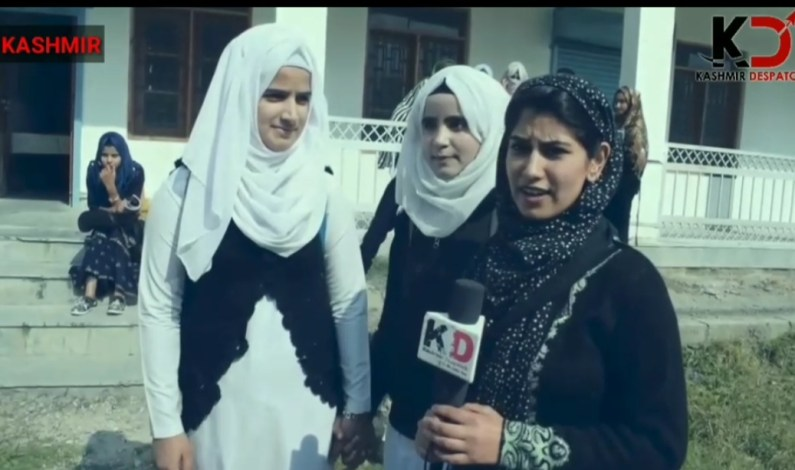 Video : 48,000 students of Kashmir appeared  for 12th class exam