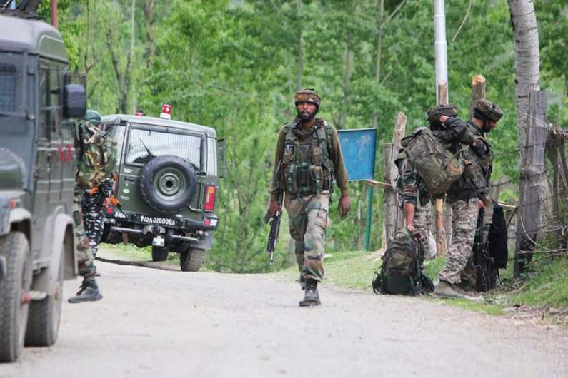 CRPF party attacked in Handwara, forces launch search operation