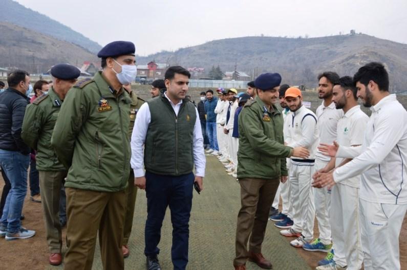 DIG North Kmr inaugurates U-19 Cricket Tournament at Bla