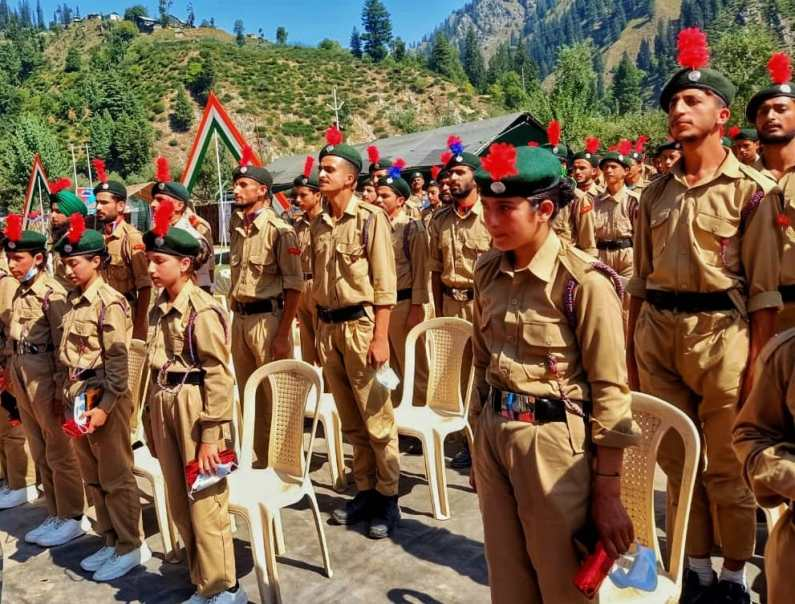FIRST EVER NCC CAMP IN GUREZ-TULAIL VALLEY