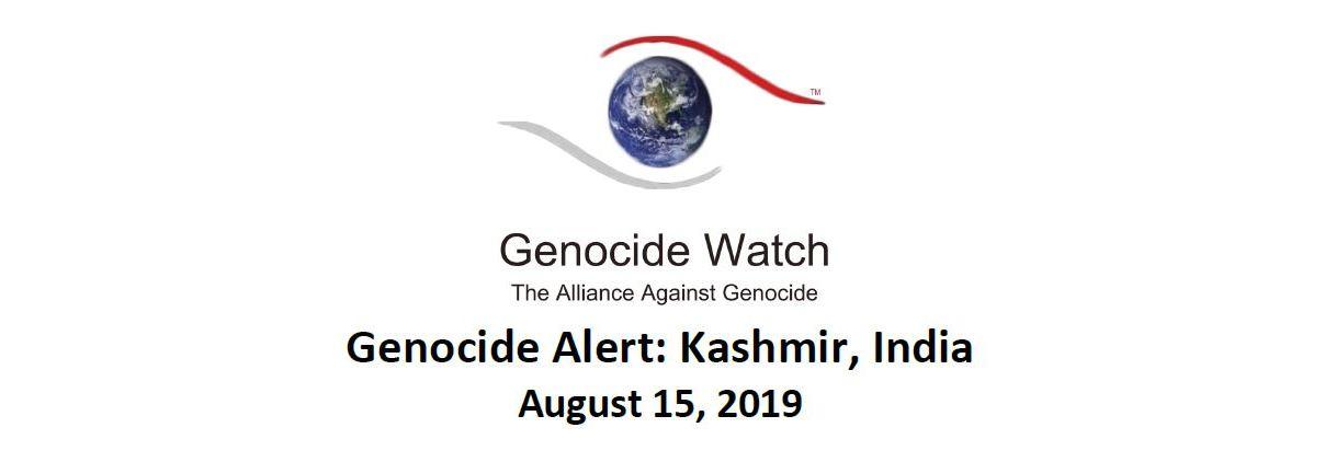 Genocide Alert: Kashmir, India