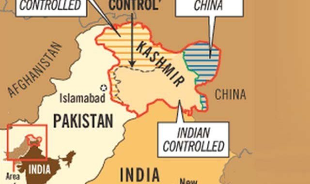 The legal position of Jammu and Kashmir – Which part is not occupied?