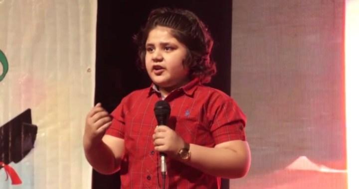 9 years Kashmir boy Zidane Hamid makes Guinness World Record