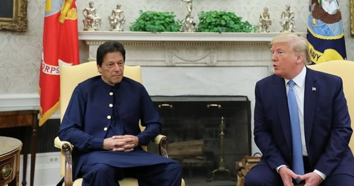 India denied the claim made by the US President about Mediation on Kashmir dispute