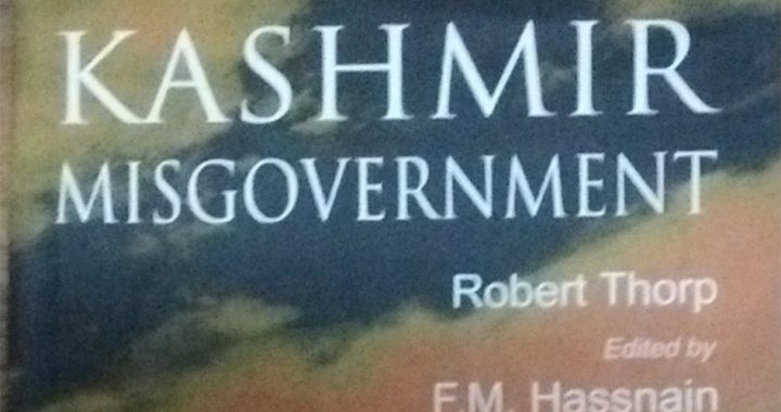 Kashmir Misgovernment (Book review)