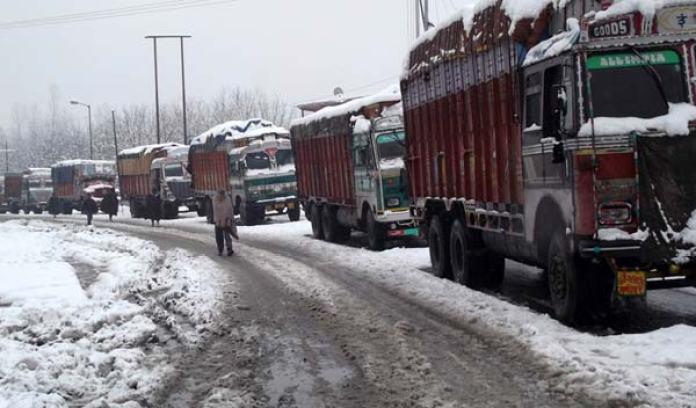 Srinagar-Jammu Highway.