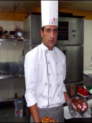 One of the passouts from the centre working at the Lalit Grand Palace Srinagar