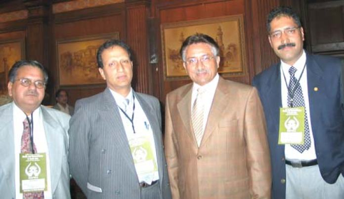 Discourse-shujat-bukhari-&-other-with-Musharraf