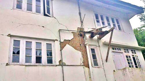 More than 50,000 houses and 750 educational institutes were damaged in the Chenab valley quake.