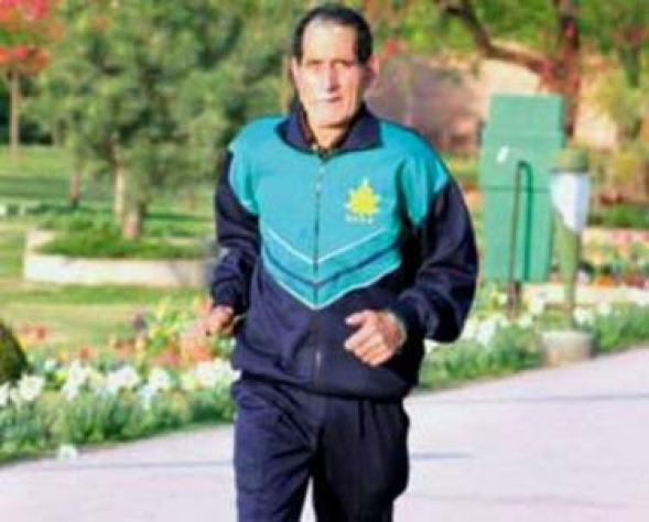 For Ghulam Rasool Bhat, old age and his quest for survival could not stop him from pursuing his passion for sports.