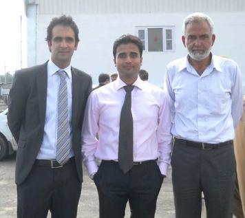 Ehsan Javaid, Farooq Amin and Farooq Tramboo