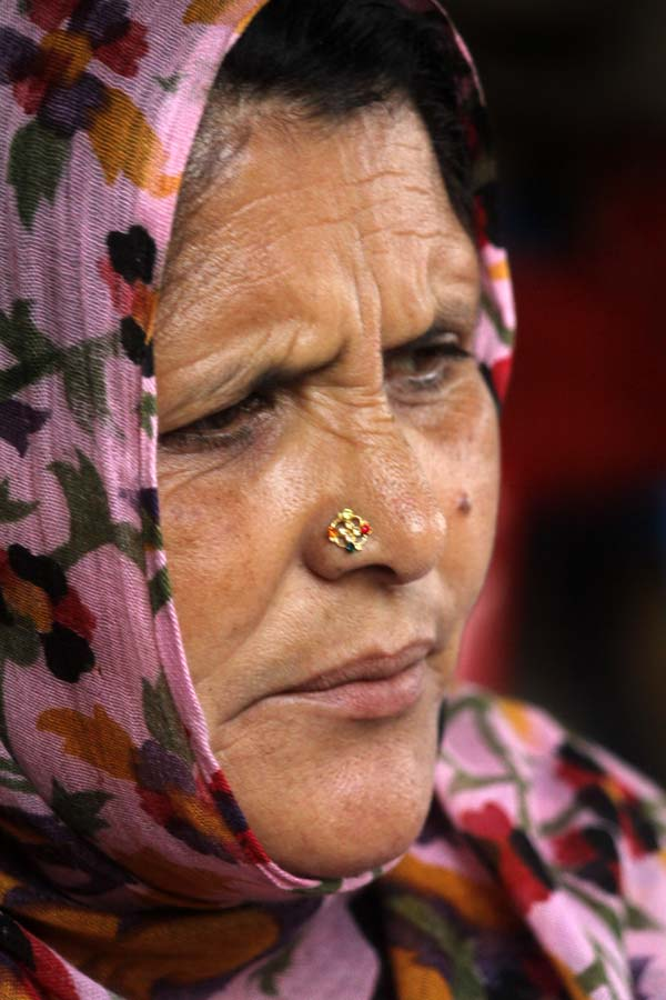 She is in sheer pain which is difficult to overcome, yet she survives for her children.