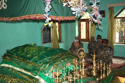 Peer Sakhi Shah Shrine in Leepa Valley