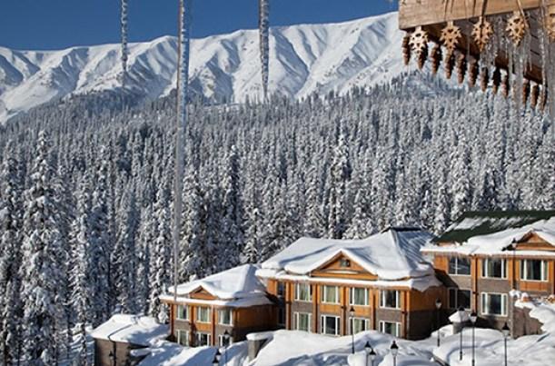 No hotel except Hotel Khyber Himalayan Resorts has individual STP facility. Pic: Bilal Bahadur