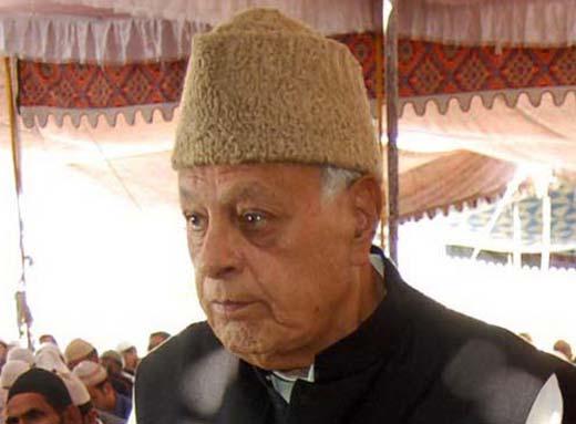 Dr farooq Abdullah