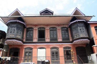 Ghalib's traditional house in Old City. Pic: Bilal Bahadur