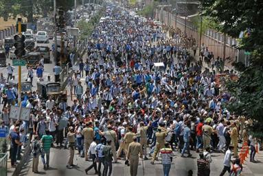 Protests-against-Israel-in-Kashmir