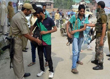 Security-Check-in-Srinagar