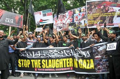 gaza-protests