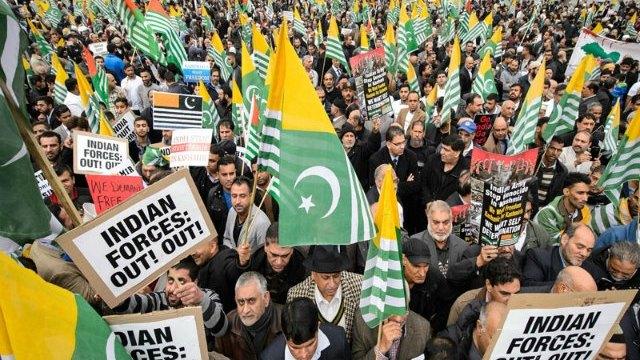 Kashmir Million March in London