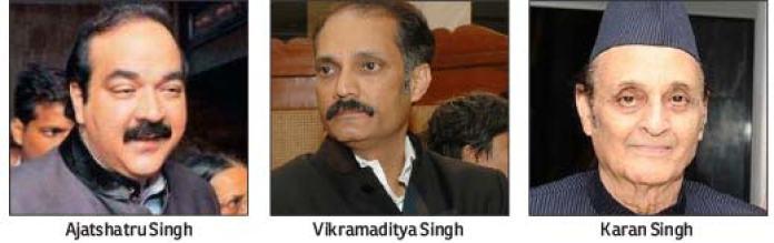 Ajatshatru-Singh--Vikramaditya-Singh-Karan-Singh
