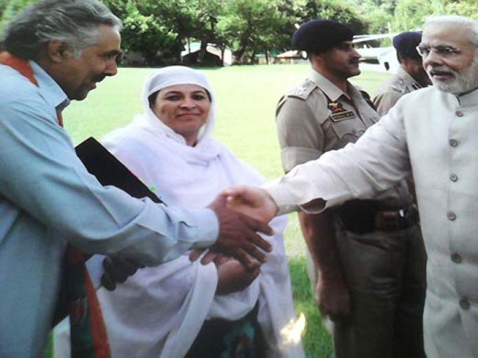 Haleema (encricled) from Uri has met Narendra Modi four times.