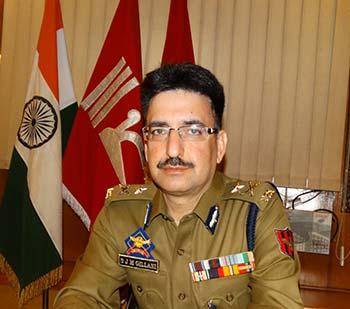 Kashmir police chief SJM Gillani