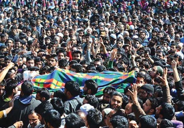 Khalid-Muzaffar-Wani's-Funeral
