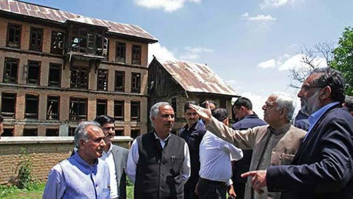 CM Mufti visited abandoned Kashmiri Pandit colony at Haal in South Kashmir's Pulwama last year.