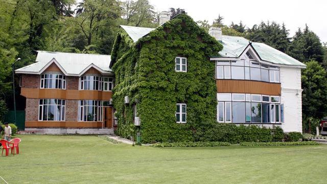The Muftis' Fairview Residence at Gupkar