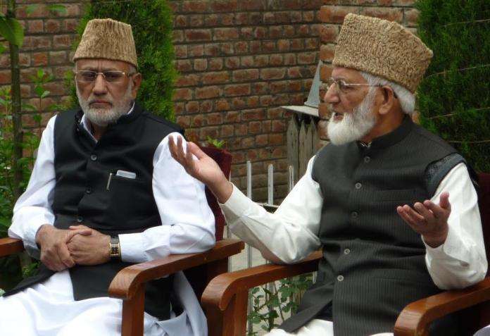 Syed Ali Geelani and Muhammad Ashraf Sehrai
