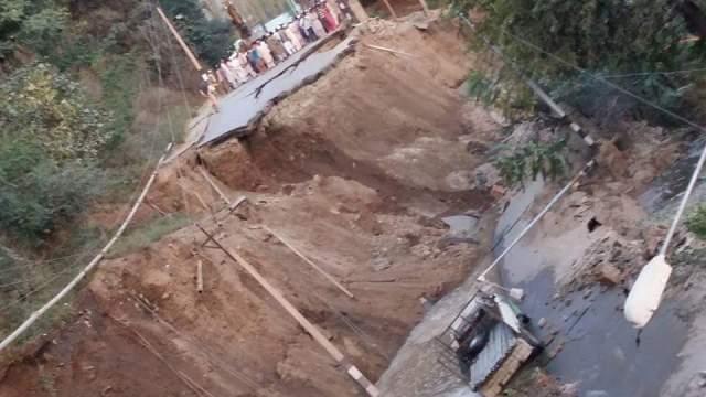 Road Sunk in Varmul