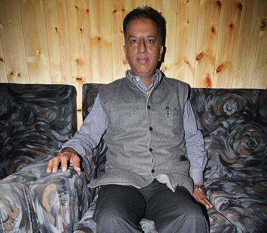 Mushtaq A Wani: President KCCI.