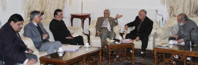 Former CM chairing a meet of Wakf Board in 2015.